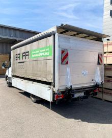 Új szolgáltatás!<br>Szabott anyag házhoz szállítása