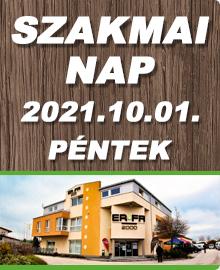 Õszi Szakmai nap 2021. október 1-én Székesfehérváron