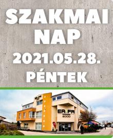 Újra Szakmai nap 2021. május 28-án Székesfehérváron